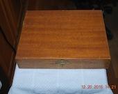 Antique wood box Imported Dates Nashville TN nostaglia decor storage