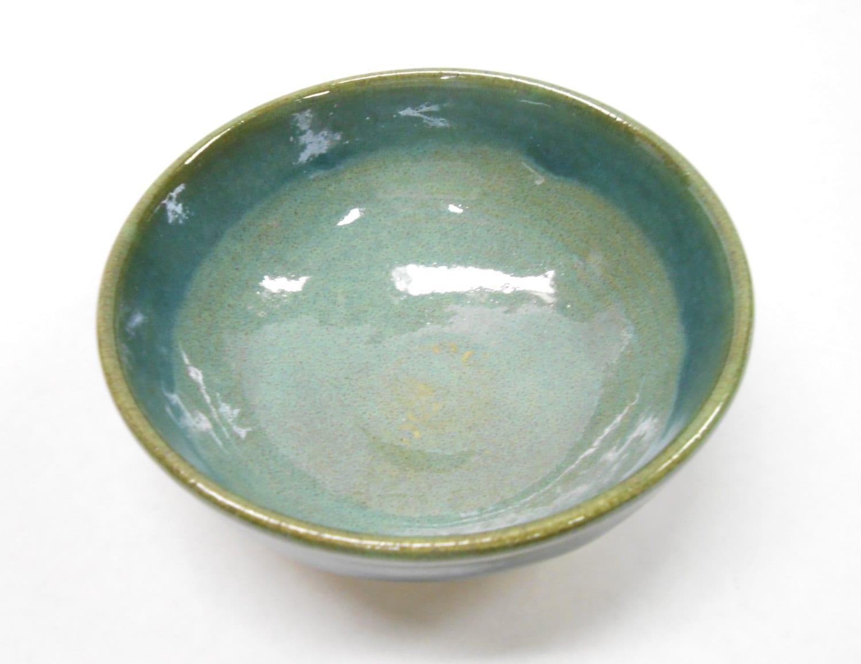 Pottery Bowl Small Ceramic Bowl Pottery Soup Bowl Blue Salt