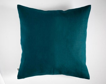 Teal pillows - throw pillows cover - classic style decorative pillow case - pillow cover for decorating home