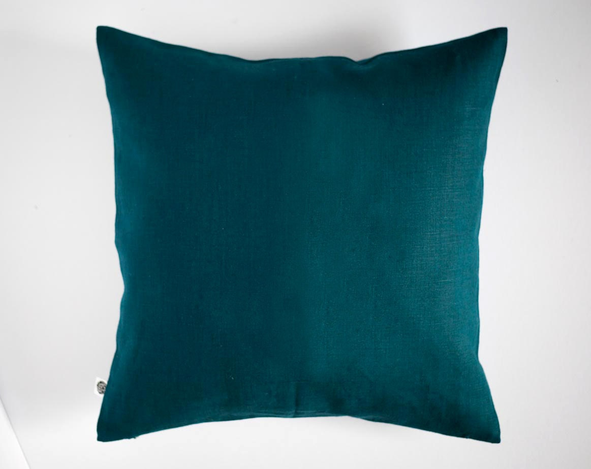 Teal Pillows Throw Pillows Cover Classic Style Decorative
