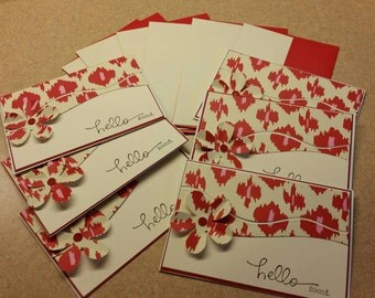 Set of  6 friendship cards
