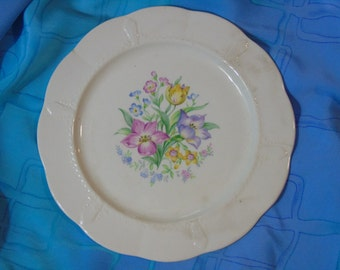antique Oneida Community china - June luncheon or salad  plate