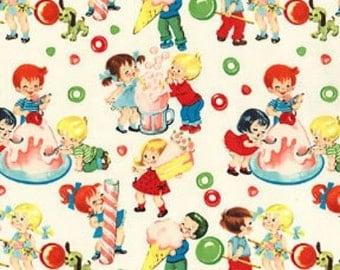 Fat Quarter Candy Shop Children 100% Cotton Quilting Fabric Michael Miller