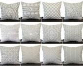 Pillow, Throw Pillow, Pillow Cover, Cushion, Decorative Pillow, Cove Beige Tan White Neutral Nautical Beach Sailing