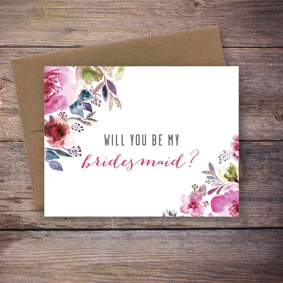 Nifty image regarding printable will you be my bridesmaid