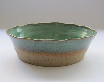 Ceramic bowl, baking serving ceramic bowl,salad bowl, pottery baking serving dish, home & living