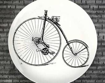 Bike no.2 plate melamine dinnerware