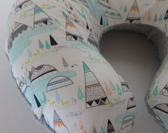TeePee Boppy Cover With Personalization Option