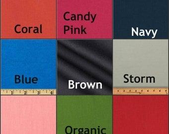 Solid Color Bumper Pads