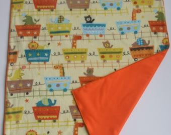 Waterproof Soft Baby Changing Mat-Diaper Changing Mat-Diaper Changing Pad-Waterproof Soft Baby Changing Pad Orange Turquoise  Brown Animals