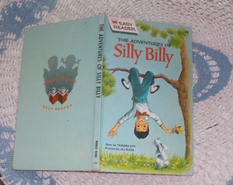 Vintage Child's book,Vintage Book,The Adventures of Silly Billy (Wonder Books Easy Reader,61/Tamara Kitt/Jill Elgin Not included coupon sale