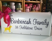 Dog Mailbox - Wedding Card Box - Standard USPS size - Choose a breed