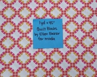Quilt Blocks by Ellen Baker for moda Quilting Cotton