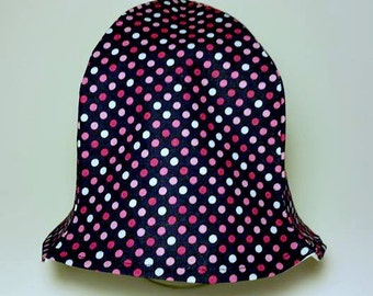 Polka Dot Baby Hat, Sun Hat for Baby, Baby Sun Hat, Pink and Blue Hat, Baby Shower Gift