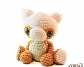 SALE! Baby Cubone Pokemon Jointed Doll Pokemon Amigurumi Plushie