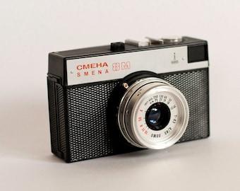 Vintage Russian Camera Smena 8M  Soviet Union Era (USSR)