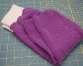 Wool Longies size 9-12 months, wool pants, wool diaper cover, recycled lambs wool blend