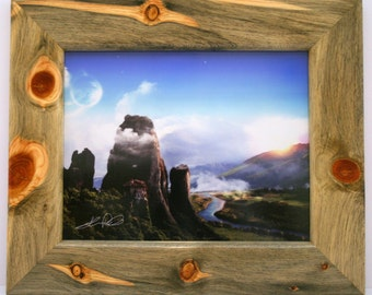 """Colorado Beetle Kill Blue Stain Pine Picture Frame     (Picture Size 11"""" x 14"""") (Price is for frame only)"""
