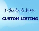 Custom listing for Nouf