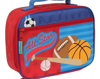 Personalized Stephen Joseph Sport Lunch Box