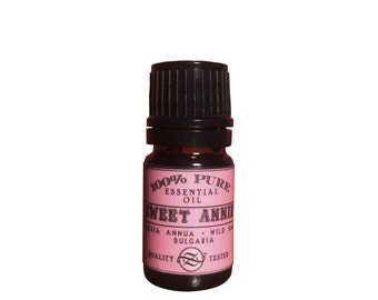 Sweet Annie Essential Oil, Artemisia annua, Wild Harvest, Bulgaria - 5 ml