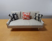 1/12 Scale Miniature Rock and Roll Dollhouse Pillows
