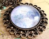 Fantasy Jewelry, Glitter Necklace, Pendant Necklace