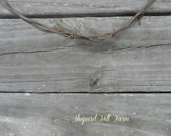 Barbed Wire on Barn Wood Art DIGITAL Download Photograph Primitive Rustic Country Farm Cowboy Masculine Background Crafts COMMERCIAL LICENSE