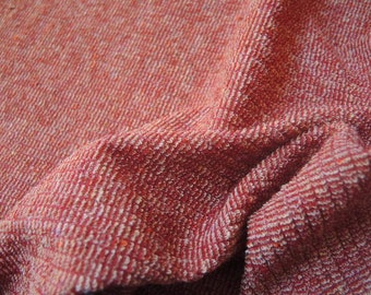 Vintage 1970s or 1980s stretchy terry cloth fabric ridiculously wide priced BTY