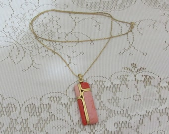 Vintage Trifari Necklace With Large Pendant