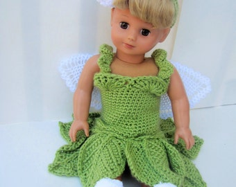 Hand Crocheted Fairy  Photo Prop Costume