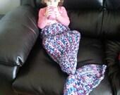 FLASH  SALE  Mermaid Tail blanket
