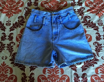 Vintage High Waisted Denim Jean Shorts