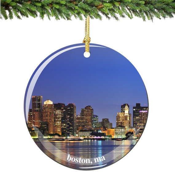 Boston Ornaments & Keepsake Ornaments | Zazzle