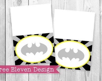 Batman PRINTABLE Food Labels