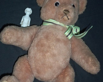 Vintage  Steiff  Teddy Bear, Greman Teddy Bear.Very Old Teddy,Ist Jointed Teddy Bear, 1905