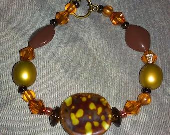 Speckle brown bracelet