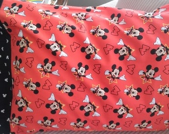 Mickey Mouse Disney/pillowcase/boys decor/Boys bithday gift