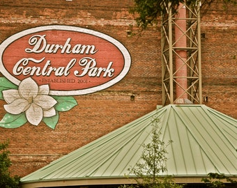 Durham Central Park Color- Durham, North Carolina Multiple Sizes Available-Fine Art Photography-Gift,Urban