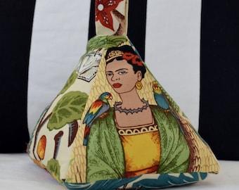 Frida Kahlo Fabric Door Stop