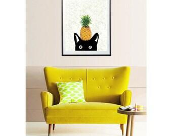 Art Print for Home or Nursery, original digital mixed media Illustration giclee art prints, Home Decor, Nursery Decor, Kids Wall Art / 8x10