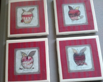 Apple Orchard Coasters