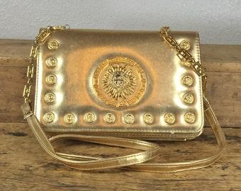 Vintage Cooper J Gold Purse / Handbag