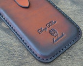 Case for Google Nexus 5X - Handmade Leather  LG Nexus 5X Pouch / - Pouch on the belt - Brown