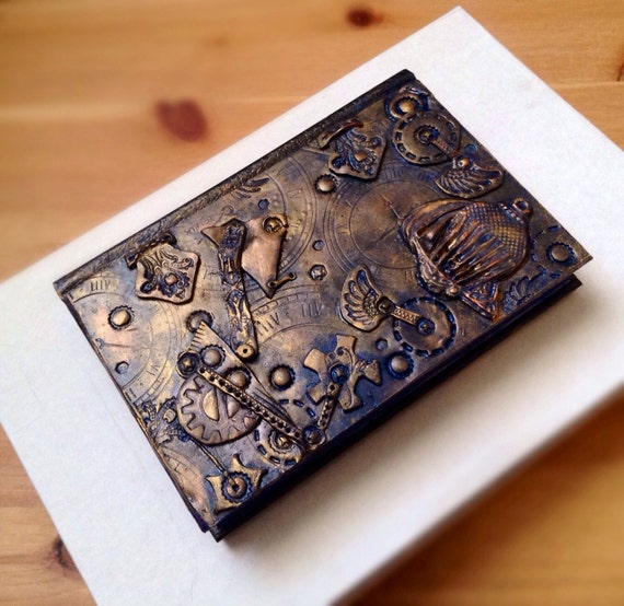 Steampunk Polymer Art One Of A Kind Gifts Wedding By CuriousGigi