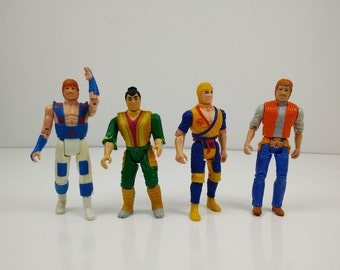 1986 Karate Kommandos Chuck Norris Ruby Spears Vintage Action Figures by Kenner