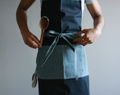 Denim Chef Apron, Denim apron