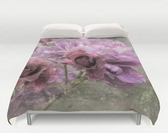 Duvet Comforter Cover Dusty Pink Rose