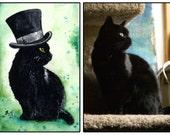 Steampunk Your Pet! 8x10 Original Custom Watercolour Pet Portrait