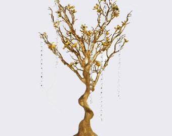 Wedding Centerpiece Manzanita Tree Branches Gold, Silver Rent